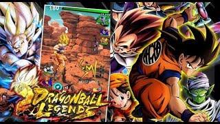 DRAGON BALL LEGENDS!!! El increible juego para ANDROID que ya puedes descargar!