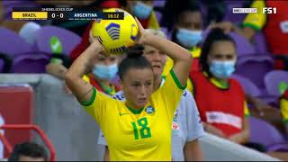 Brazil vs Argentina || She Believes Cup