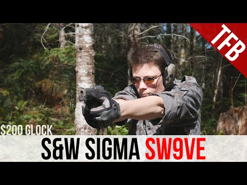 S&W Sigma SW9VE Review - Is this a $200 Glock?
