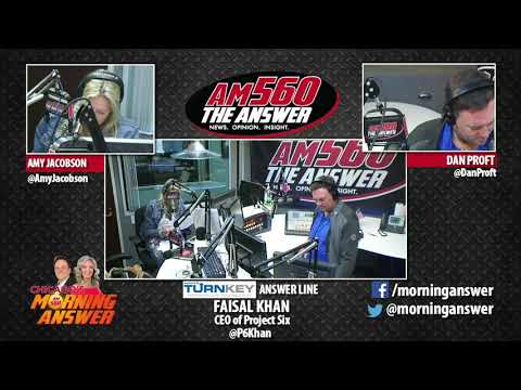Chicago's Morning Answer - Faisal Khan - October 13, 2017