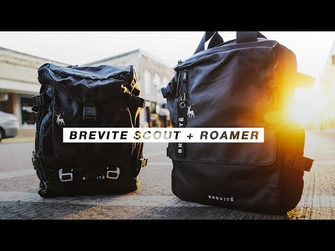 Best EVERYDAY TRAVEL Camera Bags!? - Brevite Scout + Roamer Backpack Review