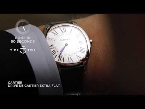 GONE IN 60 SECONDS - Cartier Drive de Cartier Extra Flat