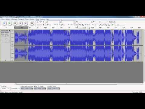 Tuto: Couper morceau MP3 avec Audacity