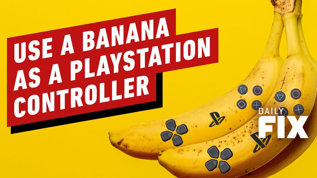Sony's Hilarious New Patent Lets You Use Food As A Controller - IGN Daily Fix