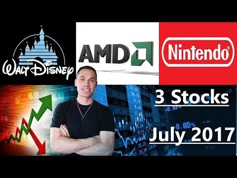 3 Stocks I'm Investing In - JULY 2017 (SI)