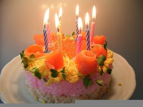 How To Make A Sushi Birthday Cake