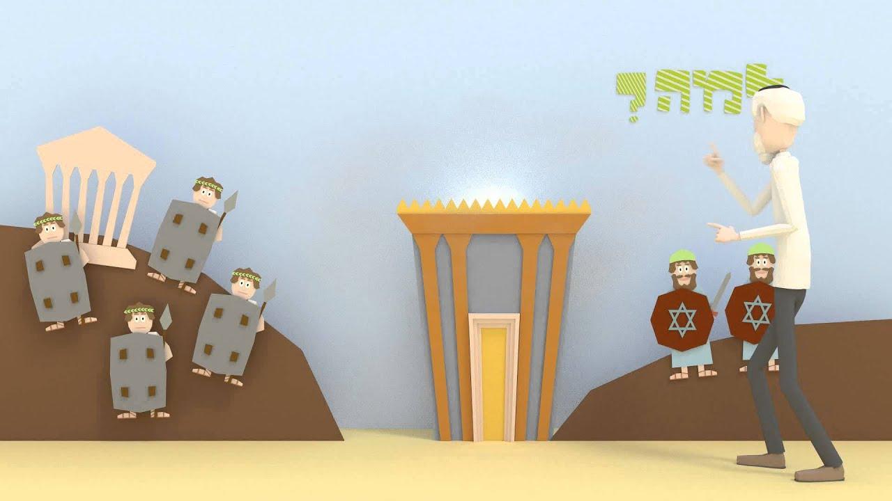"""סרטון אנימציה לחנוכה - הלכות חנוכה מתוך הרמב""""ם"""