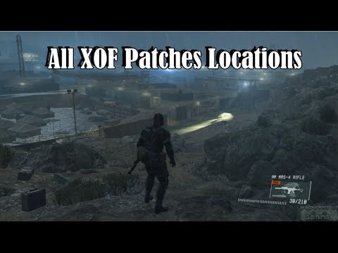 Ground zeroes all xof patches locations
