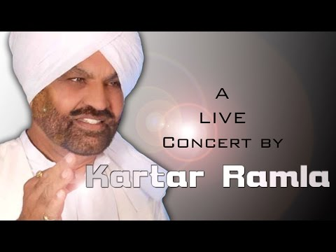 KARTAR RAMLA || Live at DIDAR SANDHU || MEMORIAL CULTURAL MELA - 2015 || Full HD || Part 3rd.