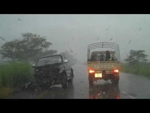 Kabwe to Lusaka in the rain