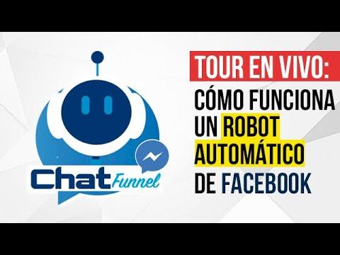 ¿Qué Es Un Chatbot? Interactuando Con Bot De Facebook En Vivo