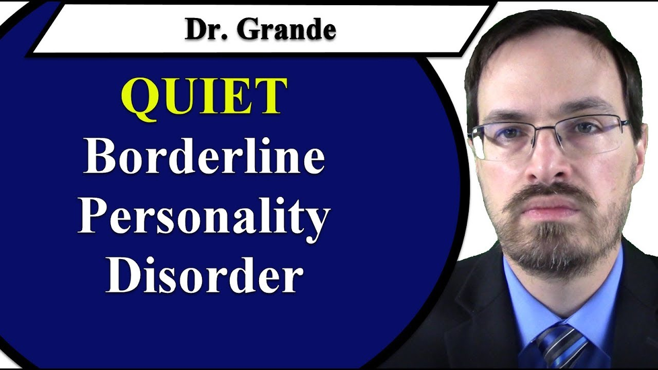 What is Quiet Borderline Personality Disorder?