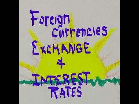 Currency Exchange and Interest Rates reasonandbalance.com
