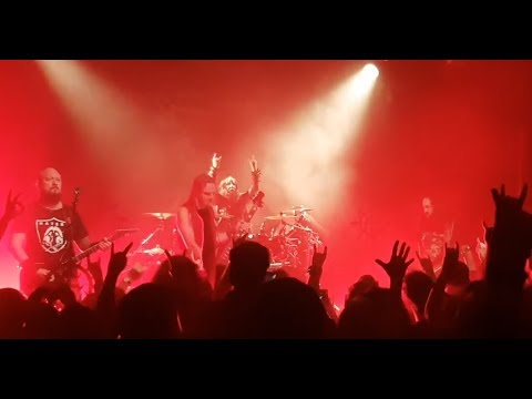 SINSAENUM feat. ex-Slipknot drummer Joey Jordison play first show on 1st tour in France..!