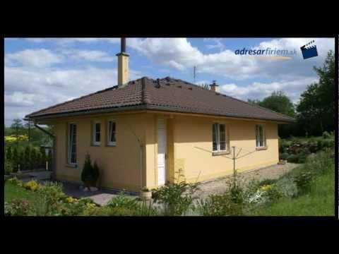 EKONOMICKÉ STAVBY - murované rodinné domy na kľúč