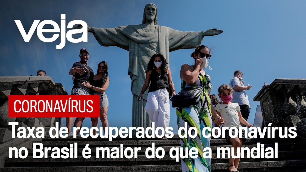 Taxa de recuperados do coronavírus no Brasil é maior do que a mundial