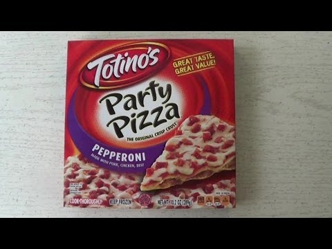Totinos Peperoni Party Pizza Review