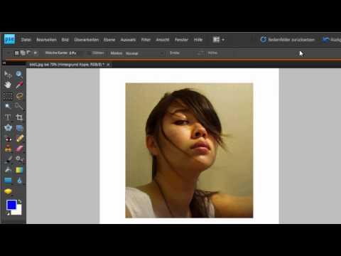 Photoshop Elements - Rahmen Und Schatten Erstellen