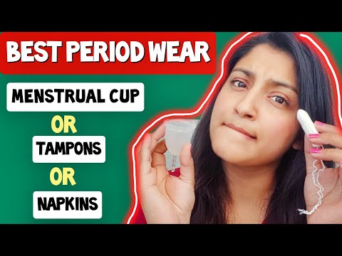MENSTRUAL CUP vs TAMPONS vs SANITARY NAPKINS Which is best for you? Ft. CARMESI