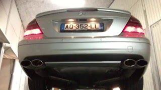 w211 e320 cdi exhaust sound no muffler no cats straight pipe