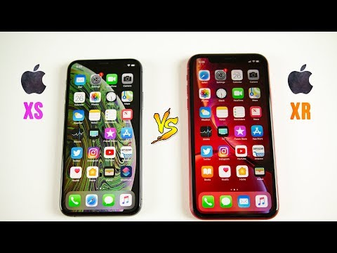 iPhone XR vs iPhone XS SPEED Test - Same Chip, Different Results