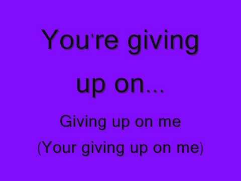 Silverstein- Giving Up- Lyrics