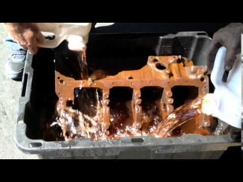 how to remove rust off of 350 chevy engine block like new youtube. Black Bedroom Furniture Sets. Home Design Ideas