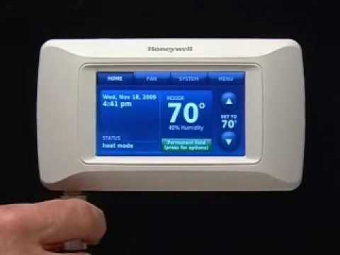 Honeywell prestige thermostat installation youtube asfbconference2016 Image collections