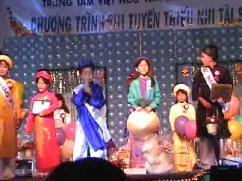 Lễ trao giải thưởng thiếu nhi tài sắc năm 2002 phần 2