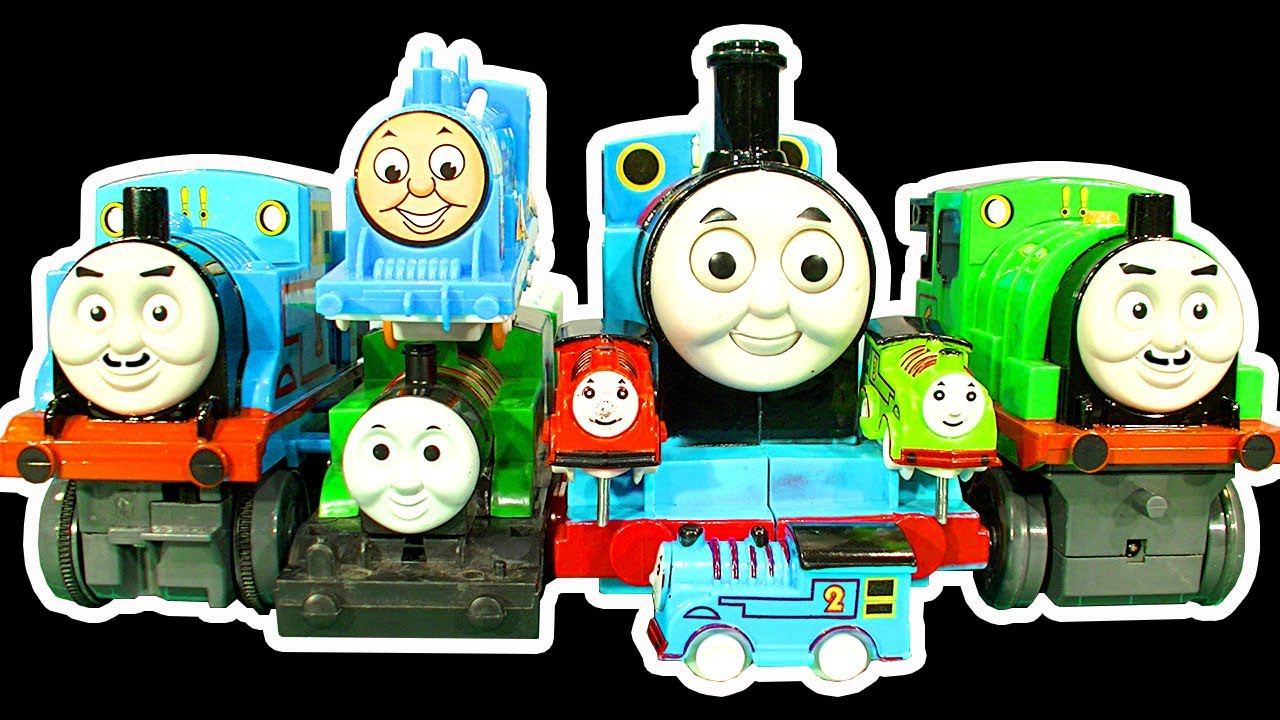 Thomas tank dark side knock off toys ep 6 7 green thomas glarabel monster review youtube - Tom dixon knock off ...