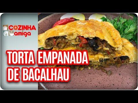 Torta Empanada De Bacalhau - Raquel Novais | Cozinha Amiga (26/03/18)