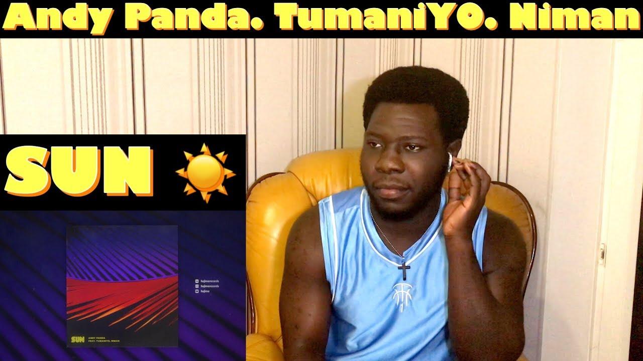 Andy Panda feat. TumaniYO, Niman - Sun (Official Audio)  Реакция ИНОСТРАНЦА