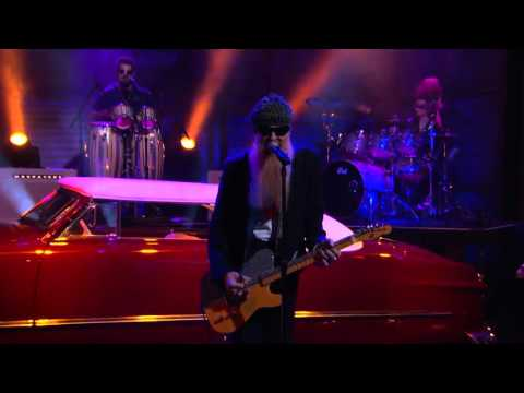 Billy Gibbons - Treat Her Right - live Conan