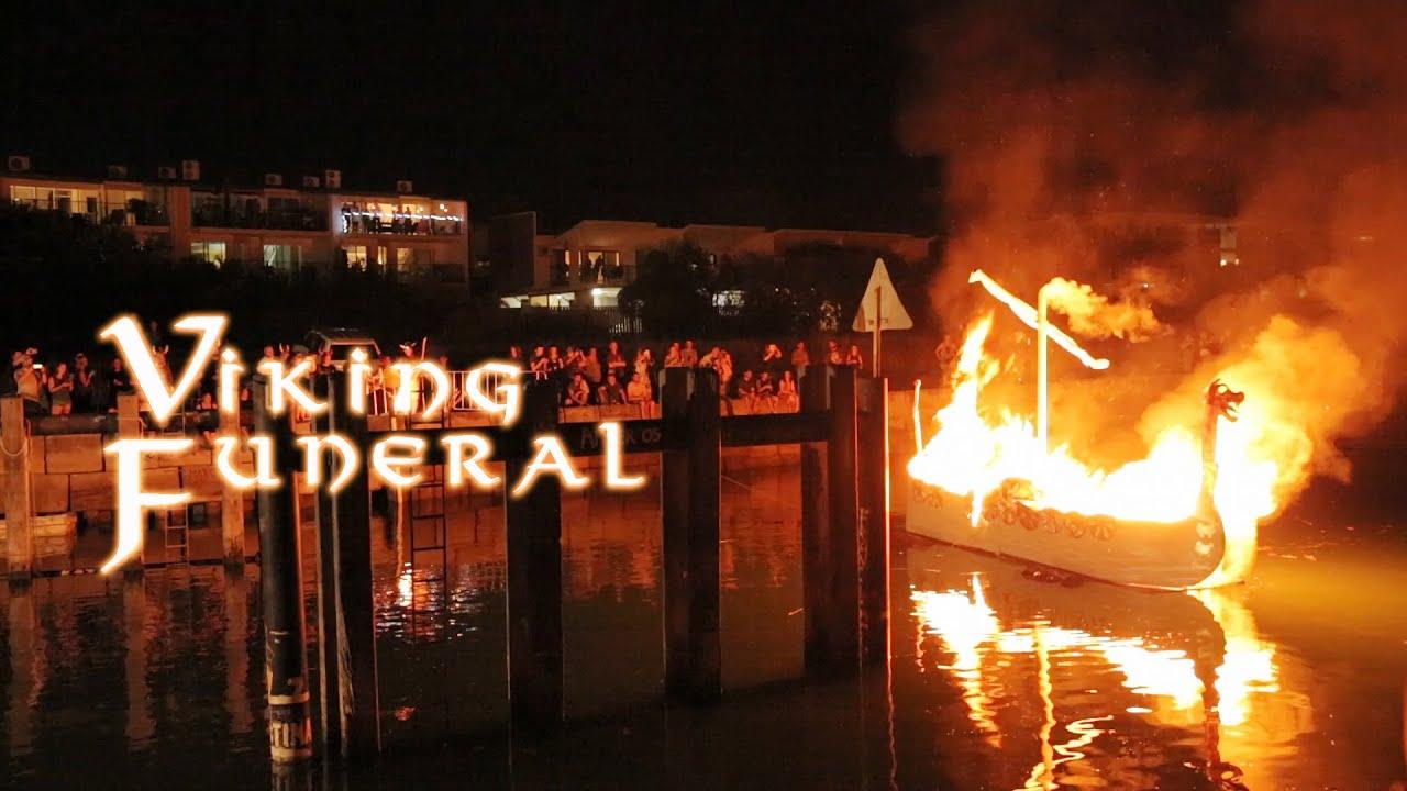 Darwin Viking Funeral At Dinah Beach YouTube