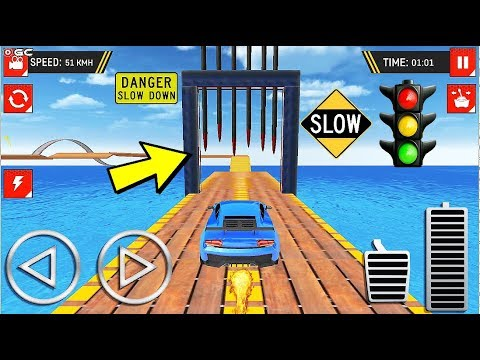 Ramp Car Stunts Free  Extreme City GT Car Racing Games - Android Gameplay Video #2