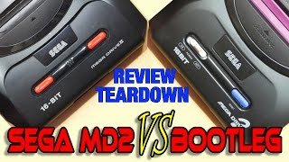 Clone Sega Mega Drive 2 review, unboxing and comparison
