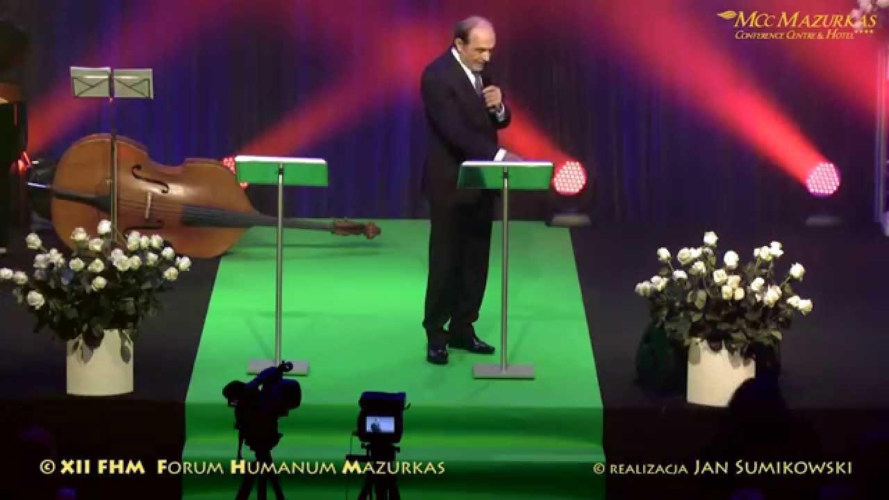 XII Forum Humanum Mazurkas słowo do koncertu Adam Zwierz - frag. z wieczoru