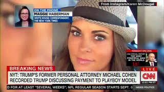 Maggie Haberman Reveals More Info About Cohen's Trump Recording