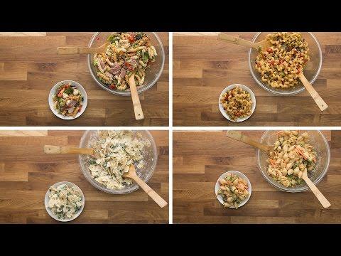 Pasta Salad 4 Ways