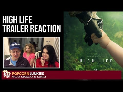 HIgh Life (Official Trailer) – Nadia Sawalha & The Popcorn Junkies Reaction