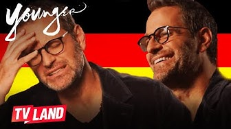 German Slang w/ Peter Hermann 🇩🇪 Younger | TV Land