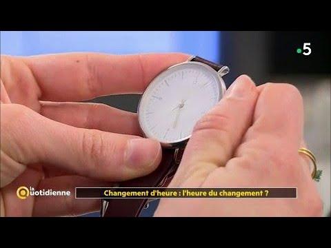 Changement d'heure : l'heure du changement ?