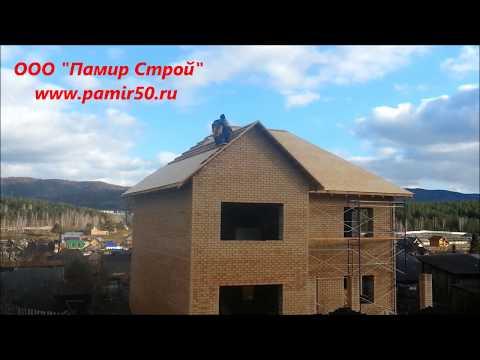 Кровельные работы. Часть 1, по проекту Маленький принц. Вальмовая крыша.