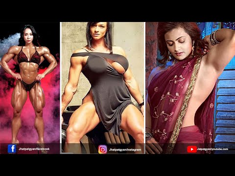 Top 5 Most Beautiful Female Bodybuilder | खूबसूरत बॉडीबिल्डर लड़कियां | Female Bodybuilding Workout