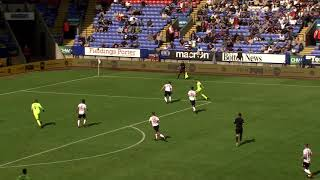 Bolton 0-3 Blades - match action