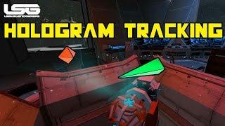 Space Engineers - Hologram Tracking Radar Concept