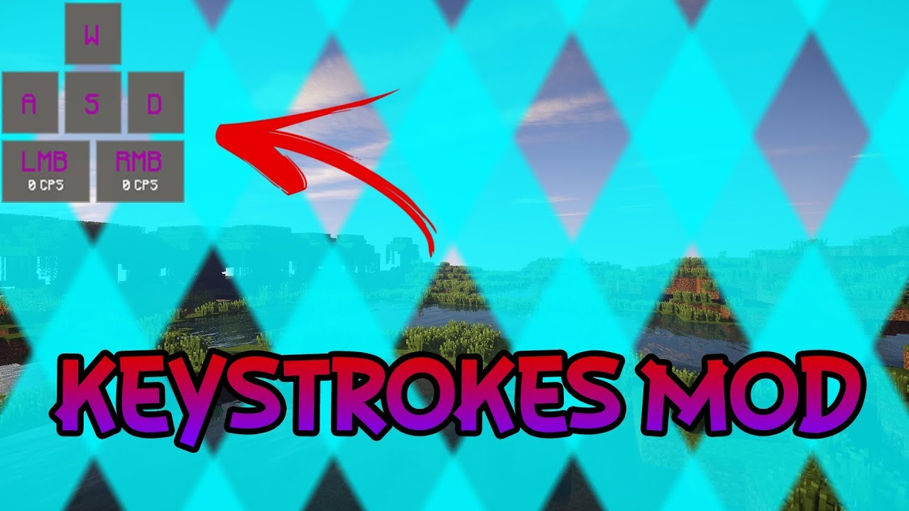 Keystrokes Mod Review 1 8 9 Chroma YouTube