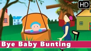 Скачать Bye Baby Bunting Animation Nursery Rhymes For Kids