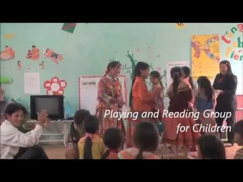 Playing and Reading Groups for Ethnic Children in Vietnam