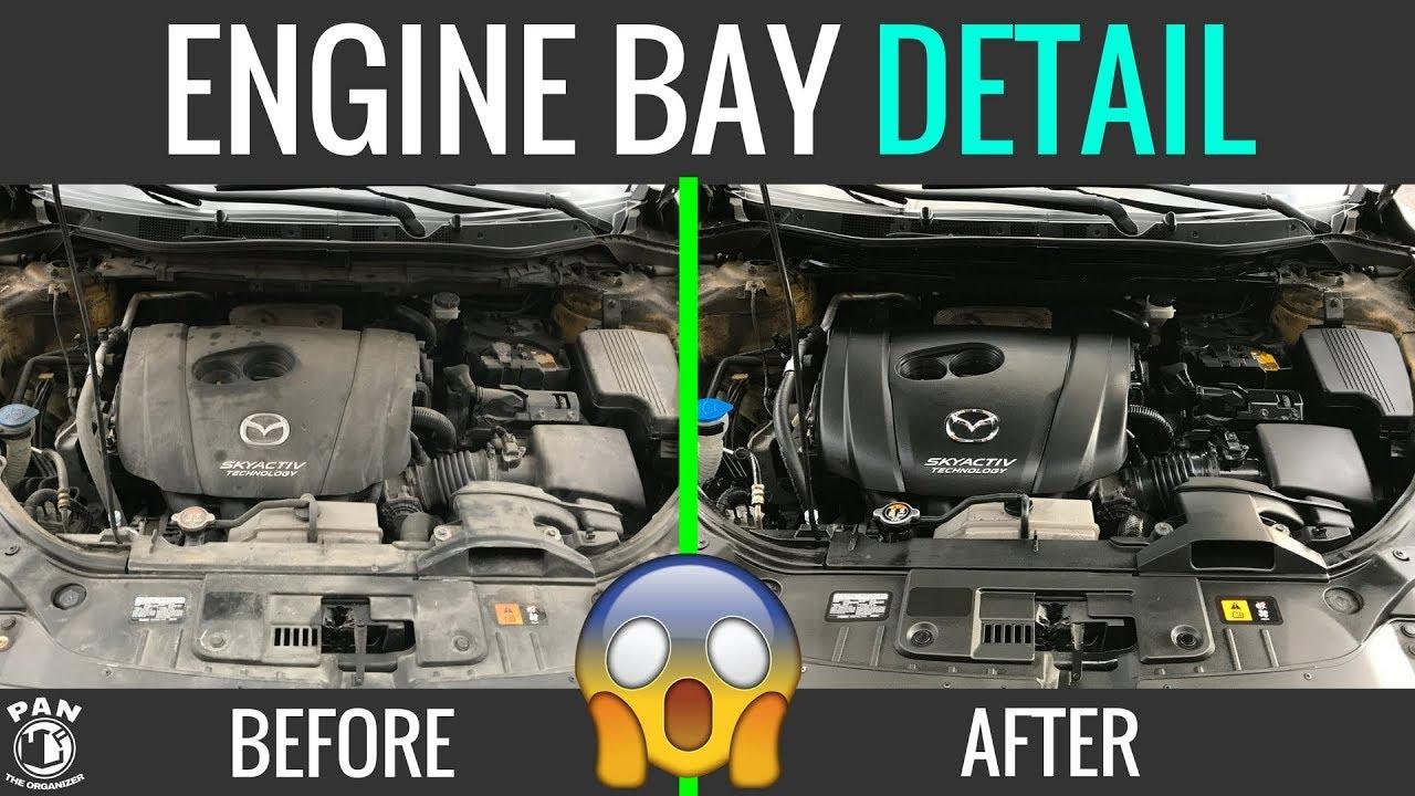 clean  engine bay easy tutorial youtube